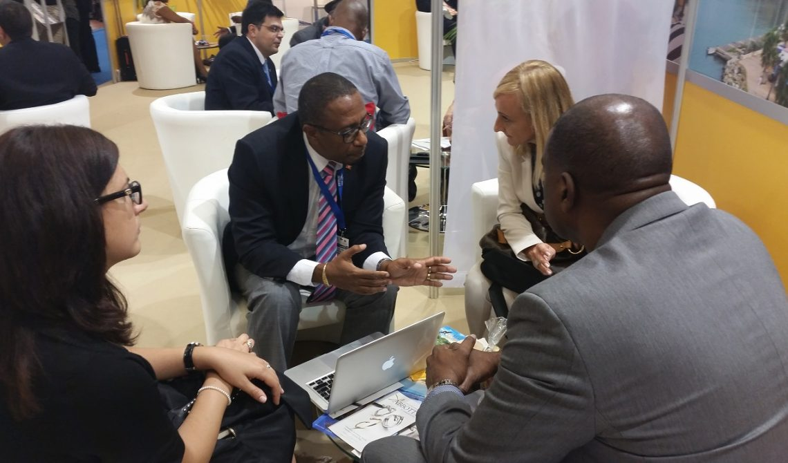 Photo 1 Antigua and Barbuda delegation with Costa Cruise Line Executives 1
