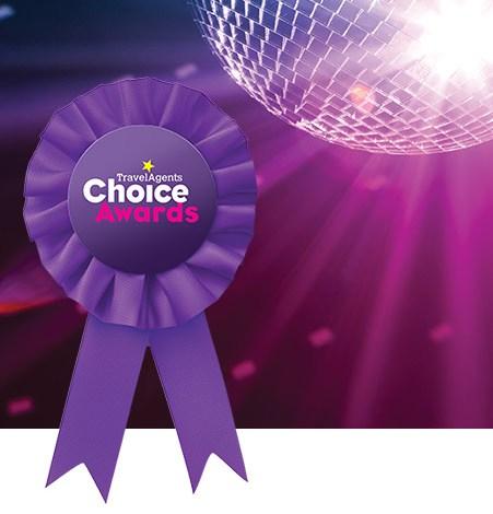 Travel Agents Choice award 1