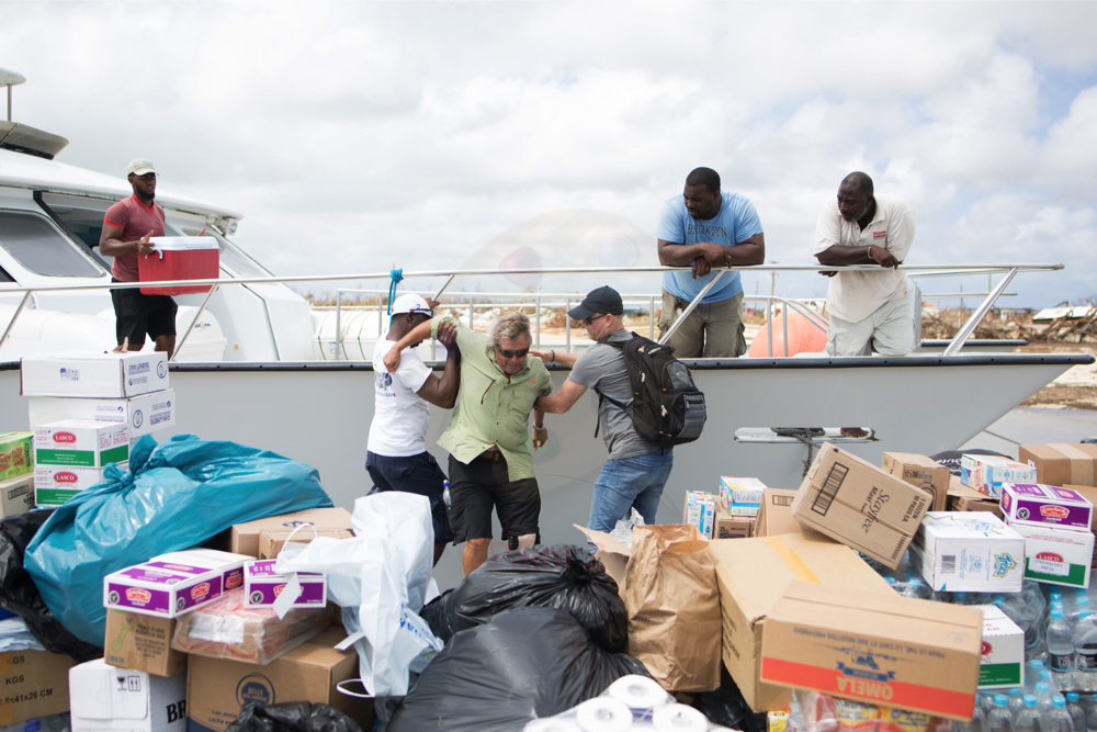 Barbuda after Hurricane Irma 1