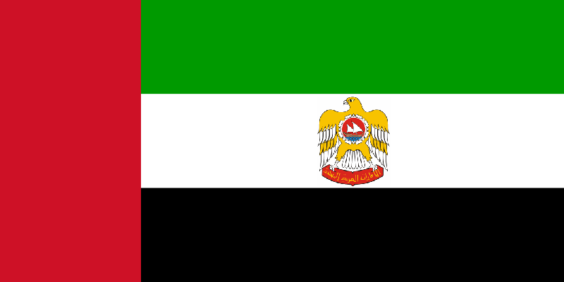 Flag of the President of the United Arab Emirates 1973 2008 1