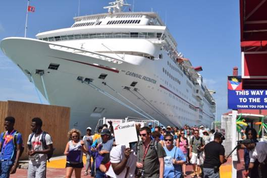 asot michae carnival cruise antigua