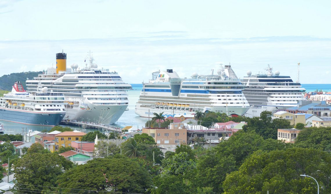 st johns cruise port