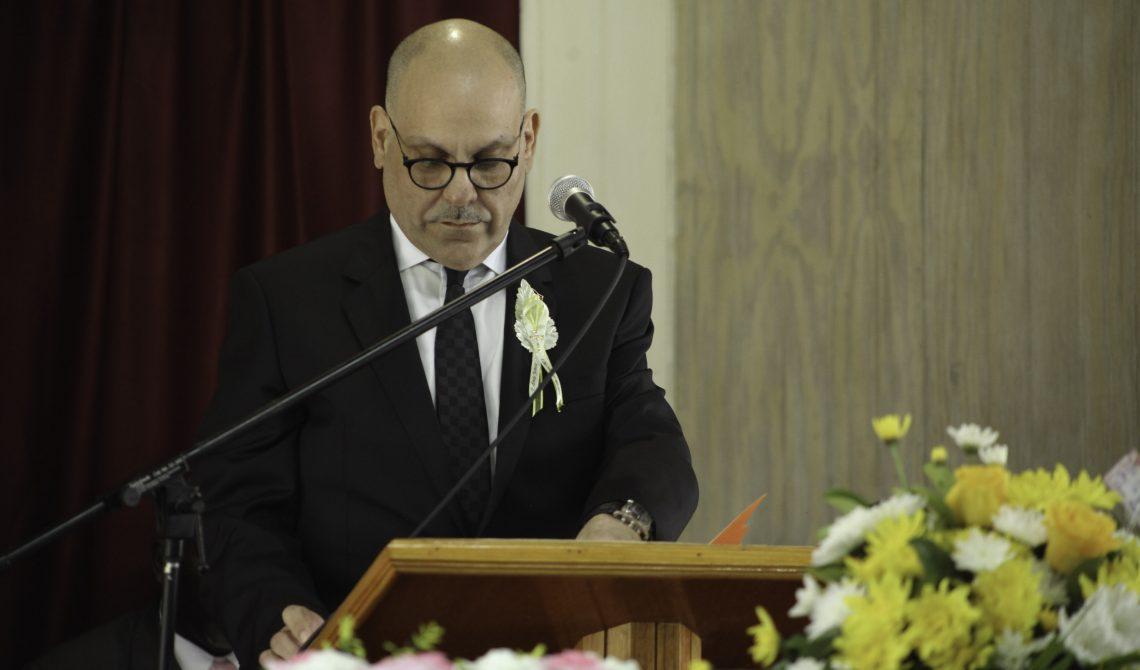 Hon Asot Michael at funeral of EDNA ESTELLA JAMES1